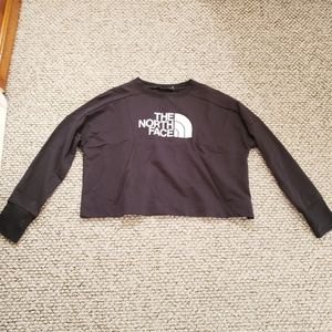 The North Face Tops - The North Face Cropped Pullover Sweatshirt
